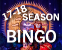 1718 Season Bingo