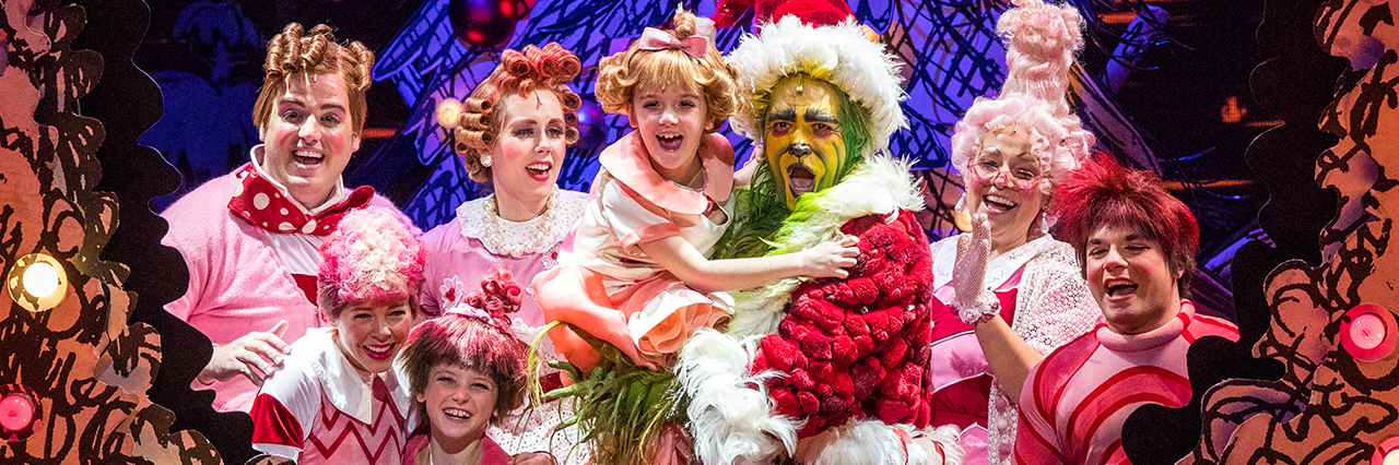 How The Grinch Stole Christmas Musical.The Bushnell Center For The Performing Arts Dr Seuss How